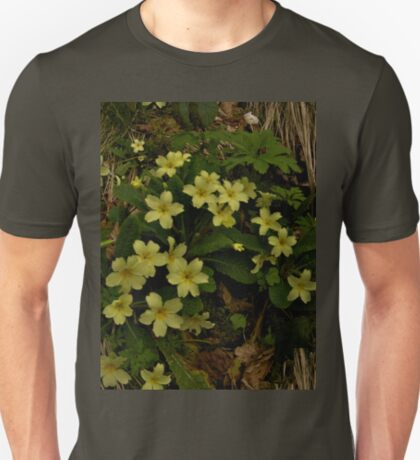 Primrose, Drumlamph Wood, County Derry T-Shirt
