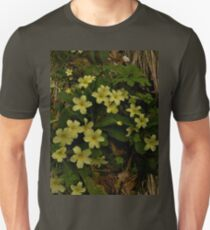 Primrose, Drumlamph Wood, County Derry Unisex T-Shirt