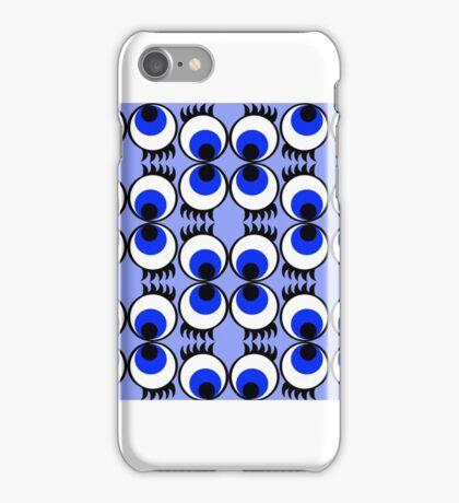 Googly Eyes Bloo iPhone Case/Skin