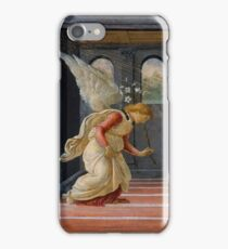 Botticelli  - The Annunciation  1485 iPhone Case/Skin