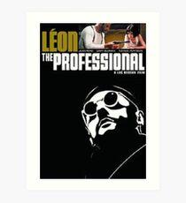 leon the professional Art Print