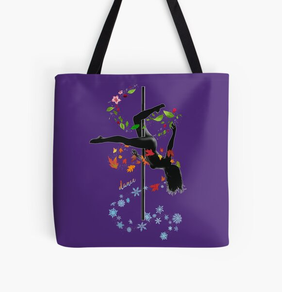 Dance Pole Dancing Active & Gym Wear Windy Four Seasons Nature Gifts All Over Print Tote Bag