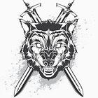 Wild wolf by maximgertsen