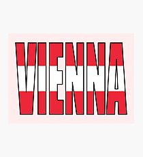 VIENNA. Photographic Print