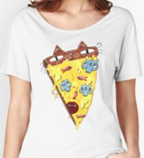 Pizza Kitty Women's Relaxed Fit T-Shirt