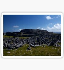 Dun  Aengus Fort, Inishmore, Aran Islands   Sticker