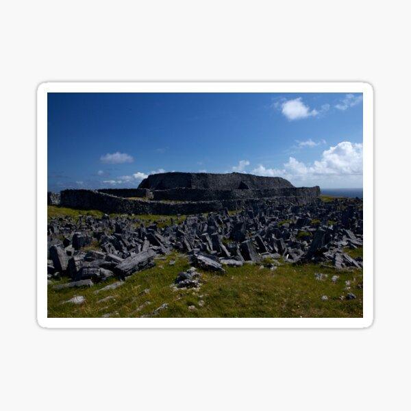 Dun  Aengus Fort, Inishmore, Aran Islands   Sticker