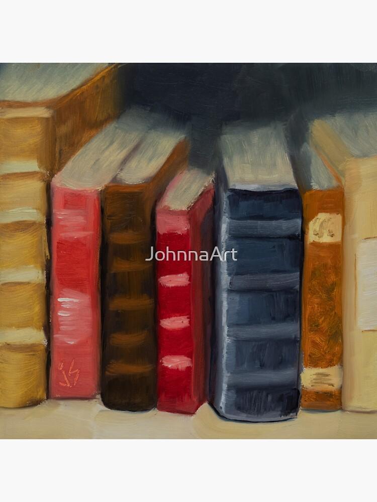 In Between Books by JohnnaArt