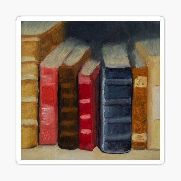 In Between Books Sticker