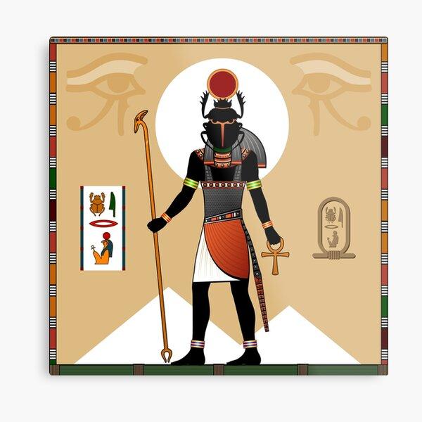 Religion of Ancient Egypt.  Metal Print