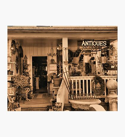"""""""Ruthie's Antiques""""... prints and products Photographic Print"""