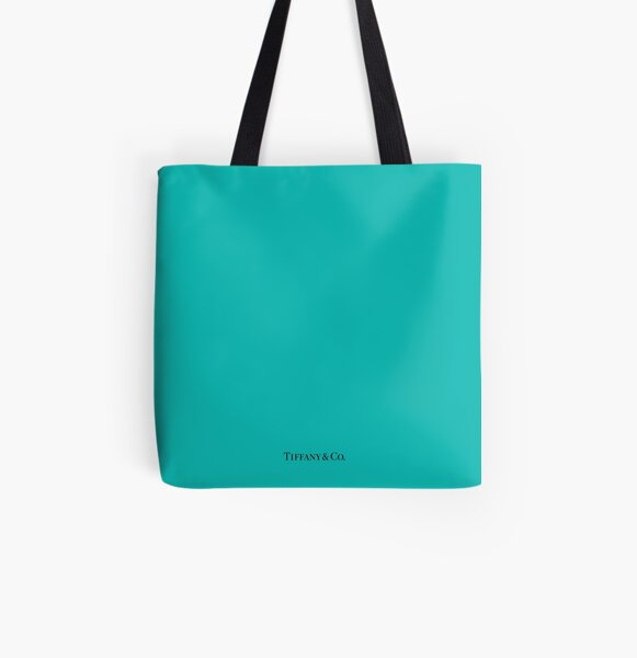 Tiffany & Co. All Over Print Tote Bag