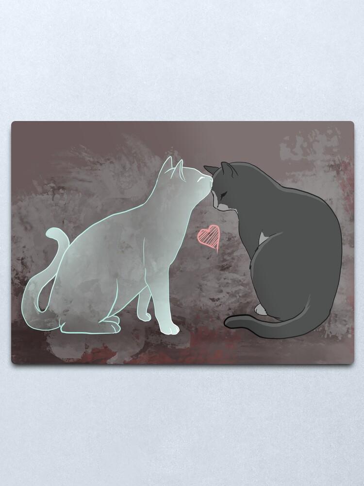 Alternate view of Kitten Metal Print