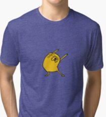 Jake the dog Tri-blend T-Shirt