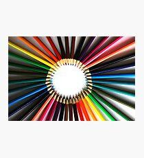 Colored Pencils Photographic Print