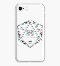 3D D20 Dice iPhone Case/Skin