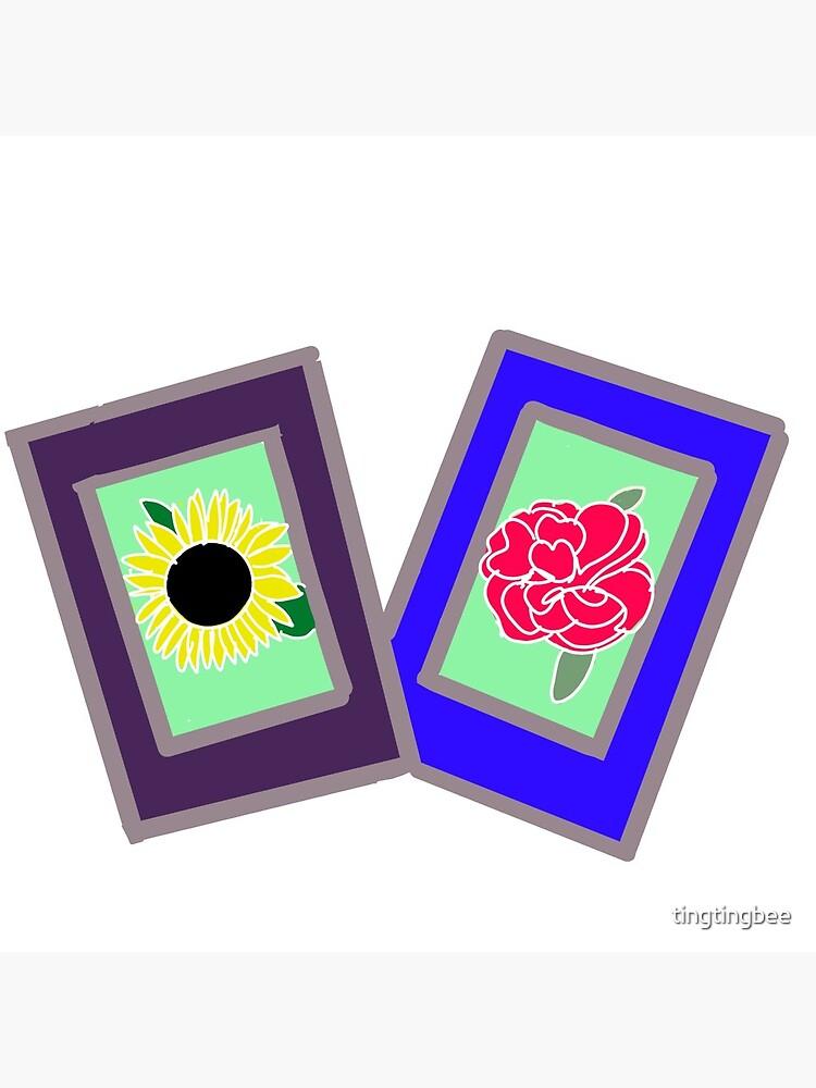 Flower Polaroids by tingtingbee
