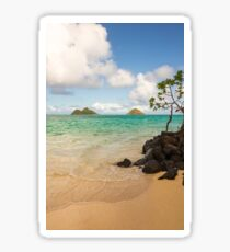 Lanikai Beach 1 - Oahu Hawaii Sticker