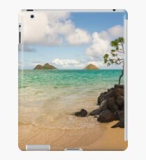 Lanikai Beach 1 - Oahu Hawaii iPad Case/Skin