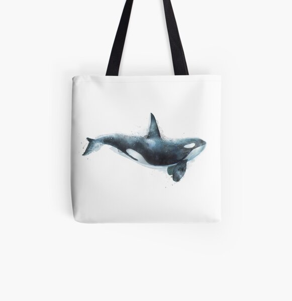 Orca All Over Print Tote Bag