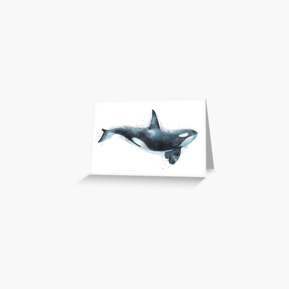 Orca Greeting Card