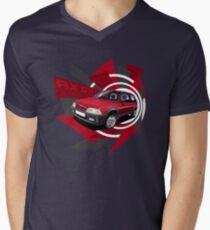 Citroen AX GTI 'Explosion' Graphic Men's V-Neck T-Shirt