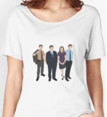 The Office US - Line Up Women's Relaxed Fit T-Shirt