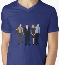 The Office US - Line Up Men's V-Neck T-Shirt