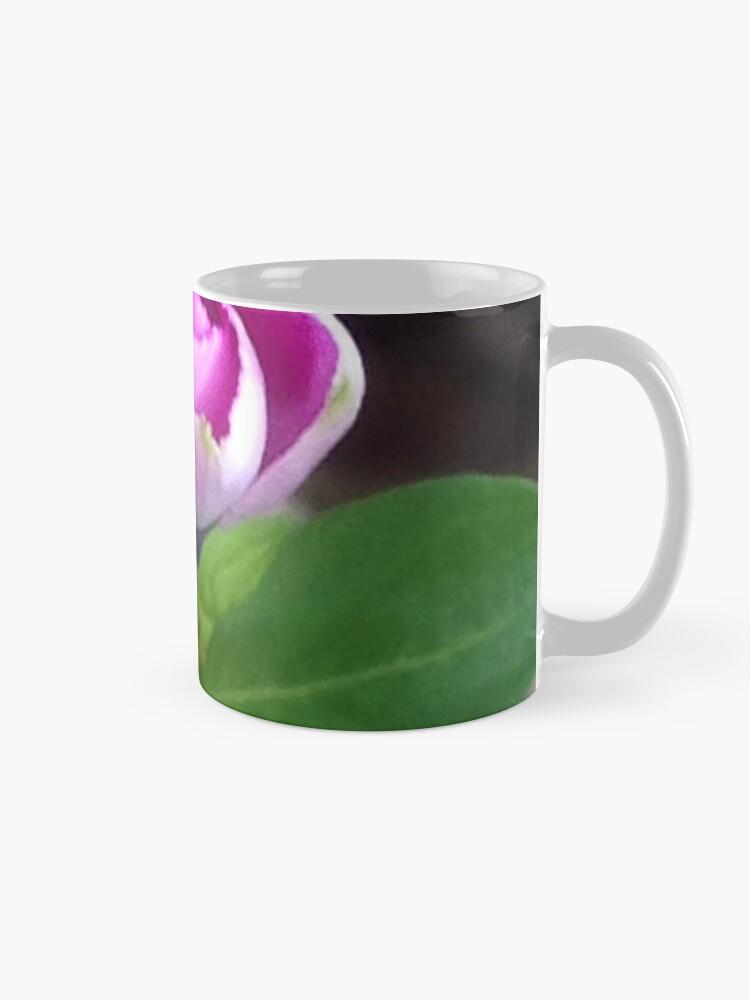 Alternate view of Pink Flower Photo Mug