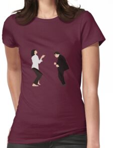 Pulp Fiction - Dance Womens Fitted T-Shirt