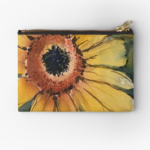 Sunflower Zipper Pouch