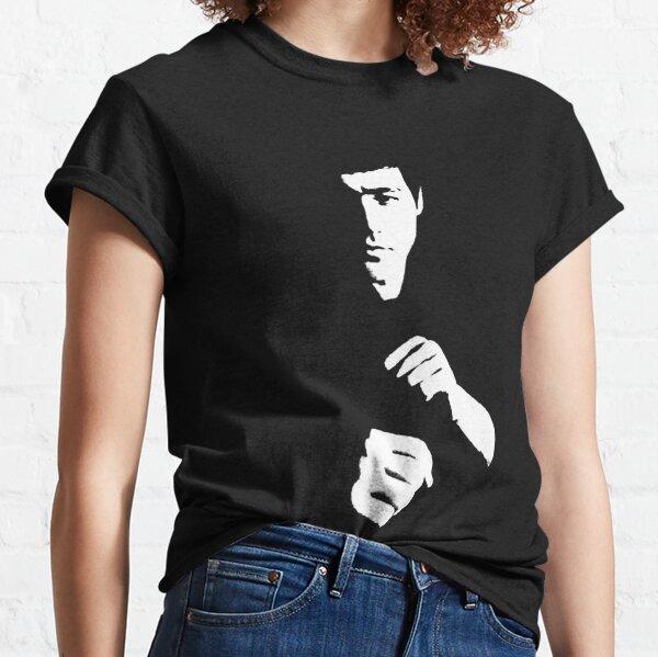 Bruce Lee Unterschrift el dragón erwartet Legend playera Tee Classic T-Shirt