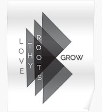 Love Thy Roots Accessories by AndHerStory Poster