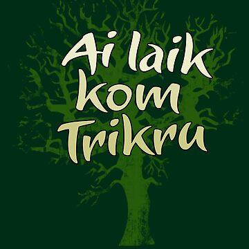 Kom Trikru by mikeonmic