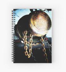 Heavy Metal - engine hoist (2012) Spiral Notebook