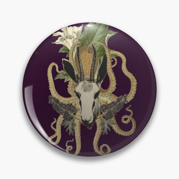 Capra Tentacle (purple) Pin