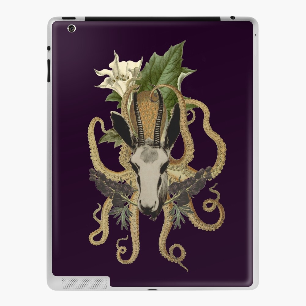 Capra Tentacle (purple) iPad Case & Skin