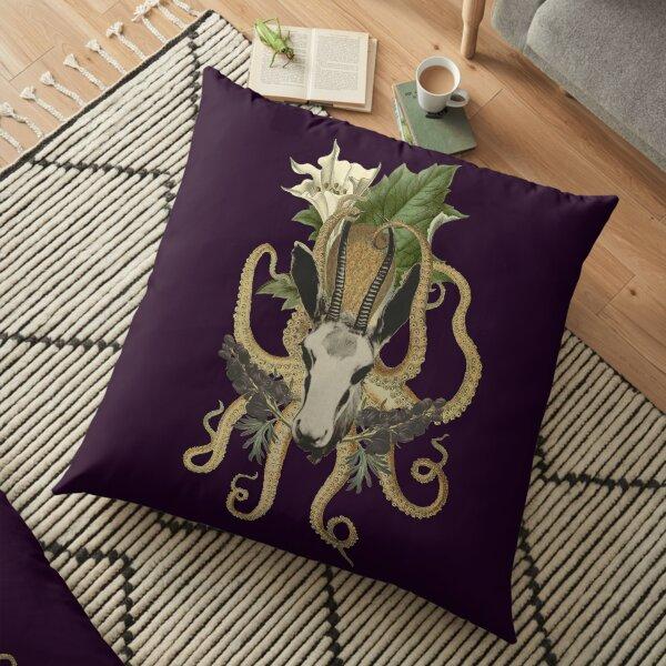 Capra Tentacle (purple) Floor Pillow