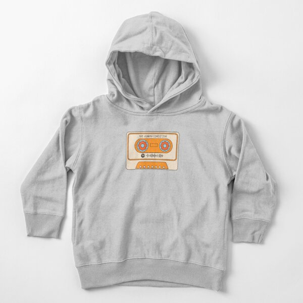 the human condition Toddler Pullover Hoodie