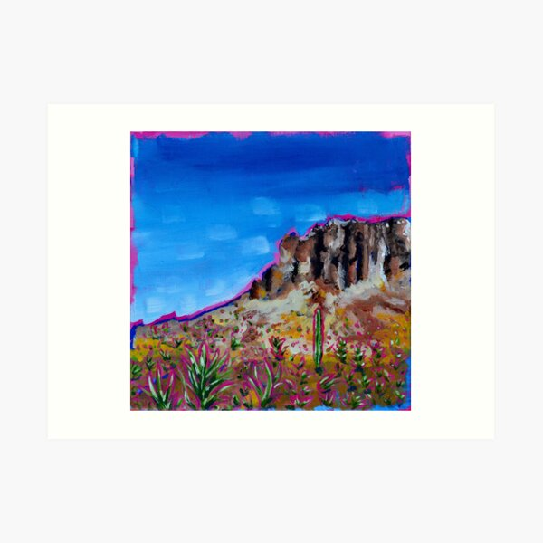 Arizona landscape #3 Art Print