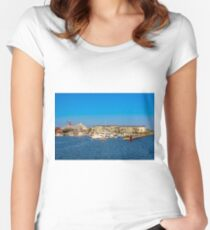 Key West Conch Harbor Women's Fitted Scoop T-Shirt
