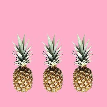 Pineapples  by Caplin