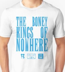 The Boney Kings of Nowhere -Blue Unisex T-Shirt