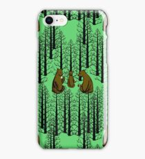 Bears Picnic iPhone Case/Skin