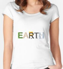 Earth Elements Women's Fitted Scoop T-Shirt