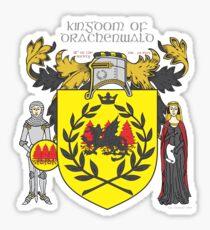Kingdom of Drachenwald Sticker