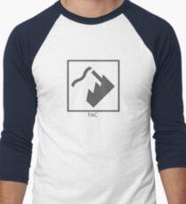 Record Label 4 (grey) Baseball ¾ Sleeve T-Shirt