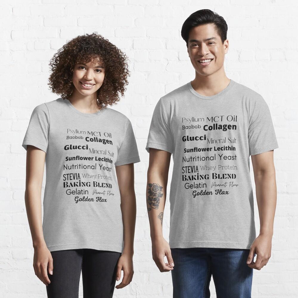 Stevia Baobob Health Wellness Lingo Essential T-Shirt