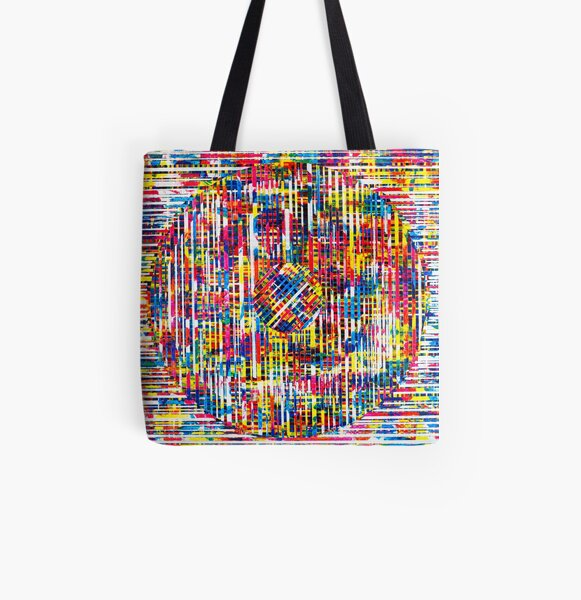 Lines Two All Over Print Tote Bag
