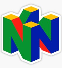 N64 Logo (Without Text) Sticker